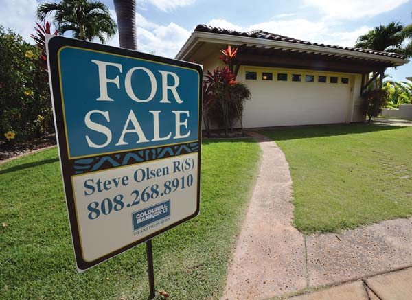 This four-bedroom  single-family home at 3176 Noho Loihi St. in Wailea is for sale for $2,475,000. -- The Maui News / MATTHEW THAYER photo