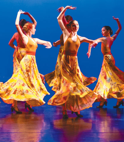 "The Seabury Hall Dance Ensemble dazzles in ""Spanish Nights"" as part of the Seabury Hall Performing Arts' Dance Showcase 2017 in the 'A'ali'ikuhonua Creative Arts Center on the school campus in Makawao at 7 p.m. Friday and Saturday and 3 p.m. Sunday. The seats are $12 for adults, $10 for seniors and $5 for students. For tickets, visit www.seaburyhall.org. Jack Grace photo"
