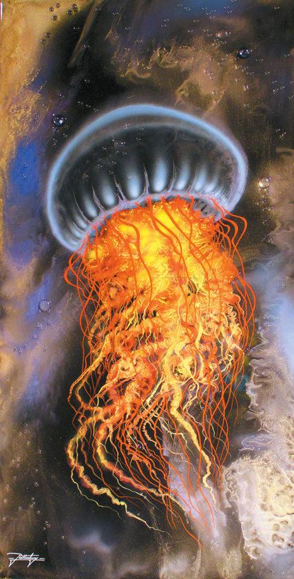 """Ghost of the Deep"" by Jon Rattenbury. Bill Wyland Gallery photo"