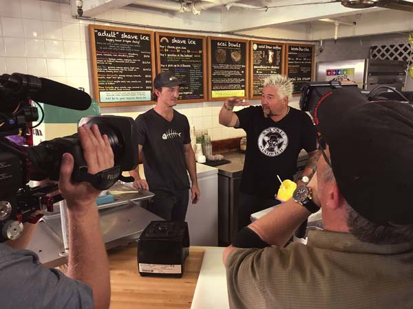 Diners Drive Ins And Dives Stops By Some Maui Eateries News
