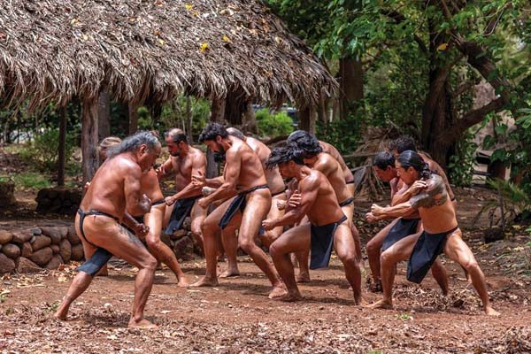 "The warriors of ""Kuleana"" are shown in a scene from the film. -- JACK GRACE photo"