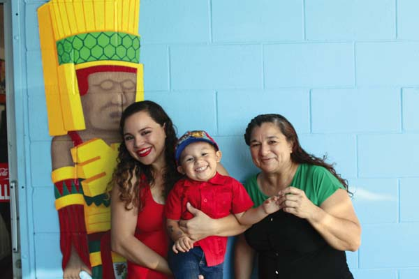 Fiesta Time in Wailuku is an authentic  Mexican food restaurant,  owned by the Luna family with Johanna (from left), Angel and Edith, who is from Sinaloa, Mexico. The Maui News / CARLA TRACY photo
