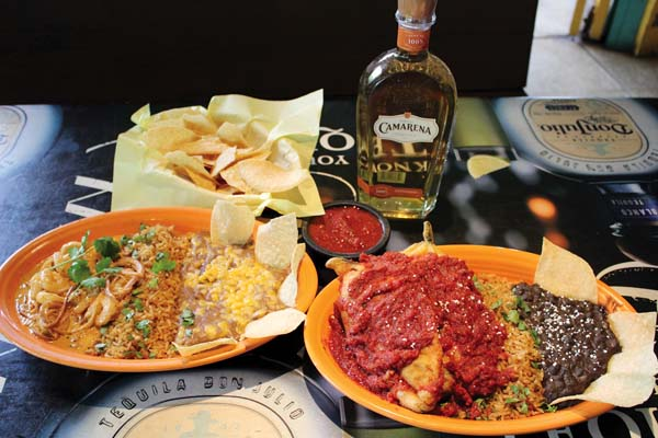 Fred's food specials will include the shrimp diablo and fresh chile rellenos. Sip frothy Camarena margaritas and get free chips and salsa with meal purchase after 11 a.m. The Maui News / CARLA TRACY photo