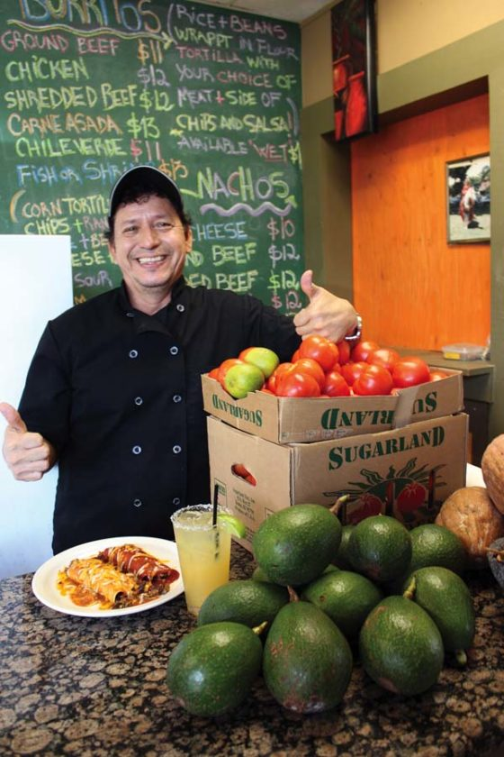 Nachos Grande's Chef Miguel Reyes will offer $2 tacos and other specials. The Maui News / CARLA TRACY photo