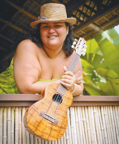 Paula Fuga at The Shops At Wailea. The Maui News file photo