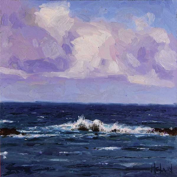 """Sea Spray"" by Casey McLain. Photo courtesy Viewpoints Gallery"