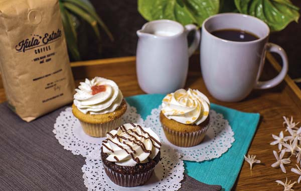 The Cupcake Ladies Catering Co.'s Pop-Up Shop will be at the former Tea Box in the Maui Mall in Kahului from noon to 2 p.m. Saturday with chocolate to vanilla to creamy caramel flavors and coffee, too. Cupcake Ladies photo