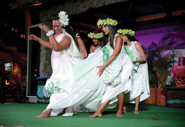 A hula show is always part of the Mother's Day festivities at Ka'anapali Beach Hotel's annual champagne brunch. Ka'anapali Beach Hotel photo