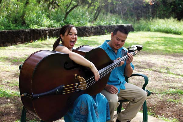 Husband and wife duo, Kupaoa will perform at the Mele Mei Ma Maui festival under the Lahaina Banyan Tree; photo provided by Daryl Fujiwara