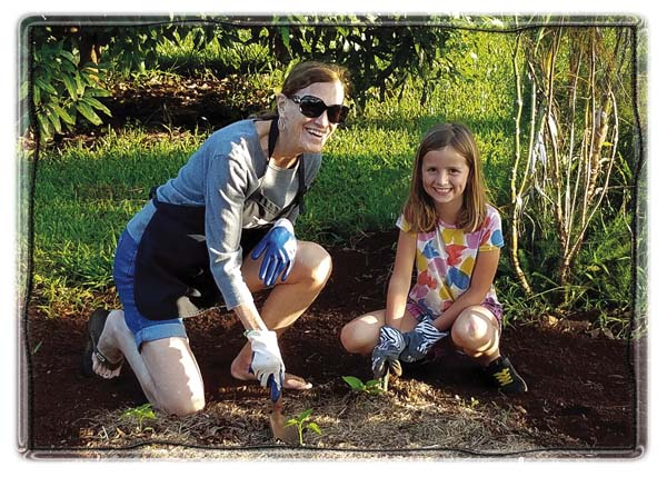 Lehn Huff is putting sustainability into action — oneschool gardenat a time