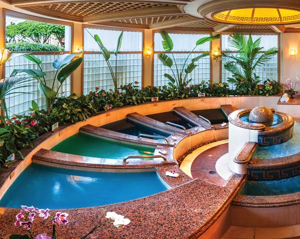 Spa Grande Features The Healing Waters Of Maui Tubs With Fragrances Rainforest And Beyond