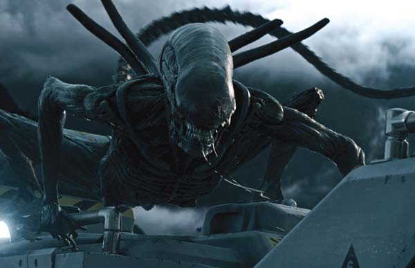 "The xenomorph returns in ""Alien: Covenant."" Twentieth Century Fox Film Corporation photo via AP"