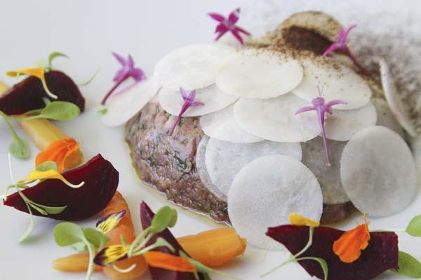 Steak tartare by DUO; photo courtesy restaurant