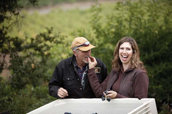 Father-and-daughter Lee and Regina Martinelli are members of a winemaking dynasty that dates back to the 1860s in California.  -- Photo courtesy of winery