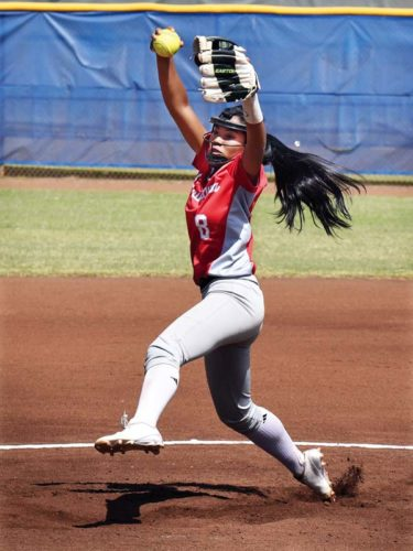 Lahainaluna High School's Taylor Asio helped lead team to Maui Interscholastic League championships this season. The Maui News / MATTHEW THAYER photo