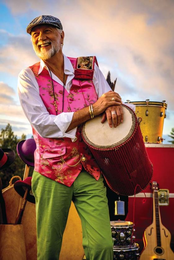 Mick Fleetwood will play Fleetwood's on Front St. tonight with the House Shakers, Eric Gilliom and Gretchen Rhodes. On Tuesday evening he will play with the House Shakers and Willie K, and then on June 6 with the House Shakers, Willie K and Gretchen Rhodes. For all shows doors open at 7 p.m., show begins at 8 p.m. Tickets start at $89. Call 667-6425 for details. DANIEL SULLIVAN photo