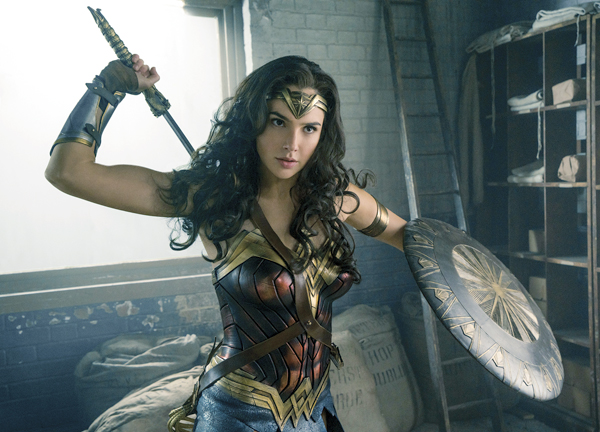 "Gal Gadot stars in ""Wonder Woman"" Warner Bros. Entertainment photo via AP"