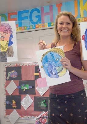 Katie Peterson is Hui No'eau's keiki teaching artist. -- Photo courtesy Hui No'eau