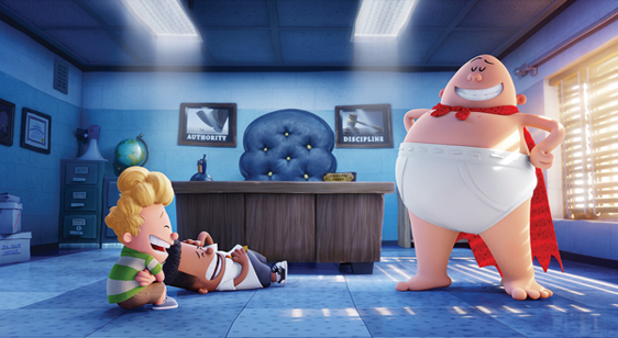 """Captain Underpants: The First Epic Movie."" • Animation via AP"