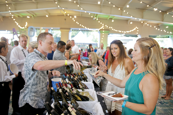The Seafood Festival will be fluid fun Sunday night at The Ritz-Carlton, Kapalua • KAPALUA WINE & FOOD FESTIVAL photo