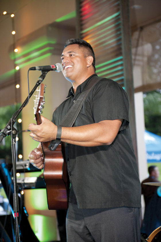 The band Nuff Sedd will get the crowd going at the Seafood Festival. • KAPALUA WINE & FOOD FESTIVAL photo