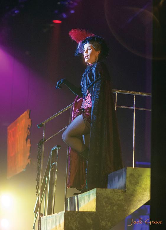 """Katherine Holtkamp in """"Jekyll &Hyde"""" • Jack Grace photo"""