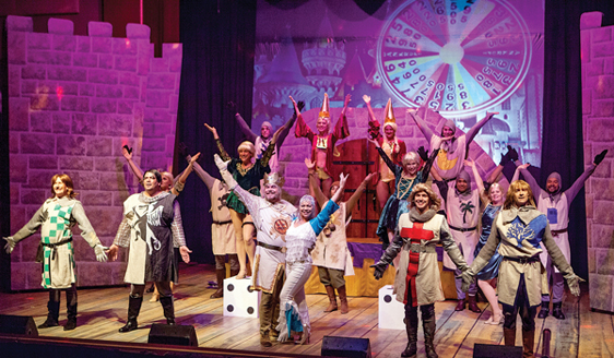 """Spamalot"" wins Pulliam's Picks for best musical on Maui. • Jack Grace photo"