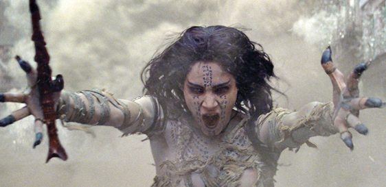 "Sofia Boutella appears in a scene from ""The Mummy"" • Universal Pictures via AP"