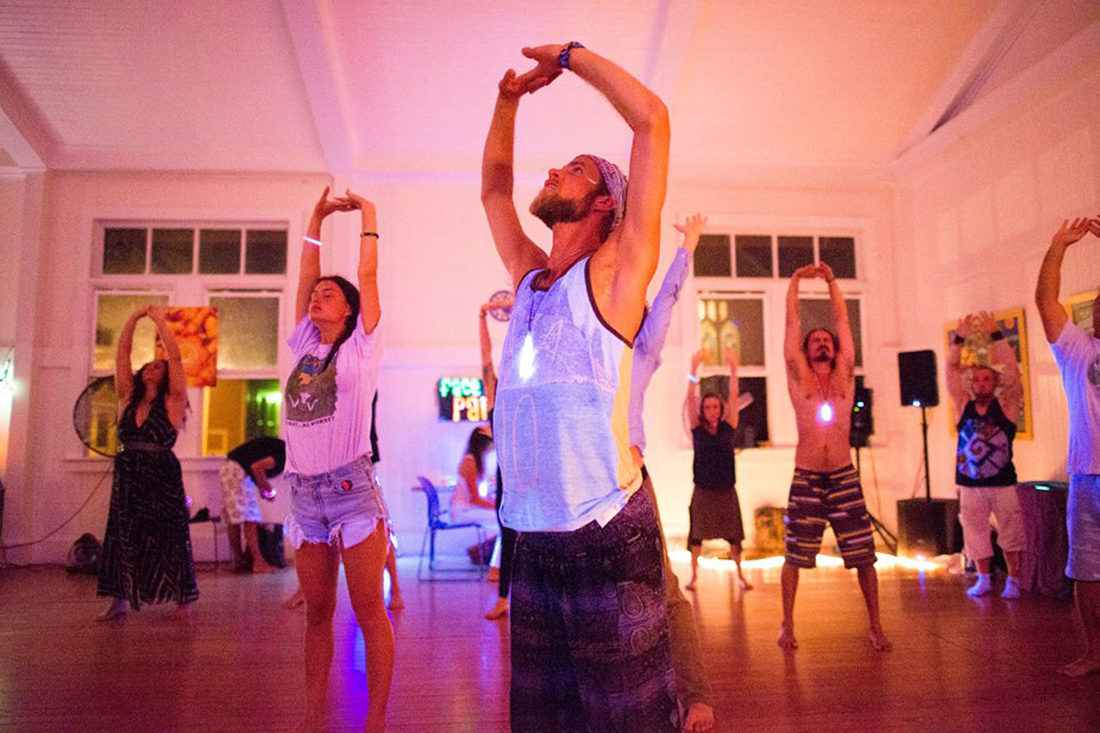 Dance Church Maui is an all-ages, nondenominational, substance-free event held weekly or monthly, depending on the time of year, in Makawao Union Church's community hall. •JOSEPH JAMES Photography photo
