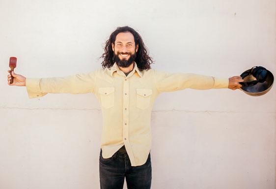 Mikaya Swabb is the co-founder and creative director of Dance Church Maui, a sacred bass dance community. • ALYSSA KEYS photo