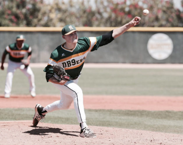 Ryley Widell had an 8-2 record and a 1.98 ERA for Central Arizona Junior College this year, striking out 115 batters in 95-2/3 innings. • BLADE ROBINSON photo