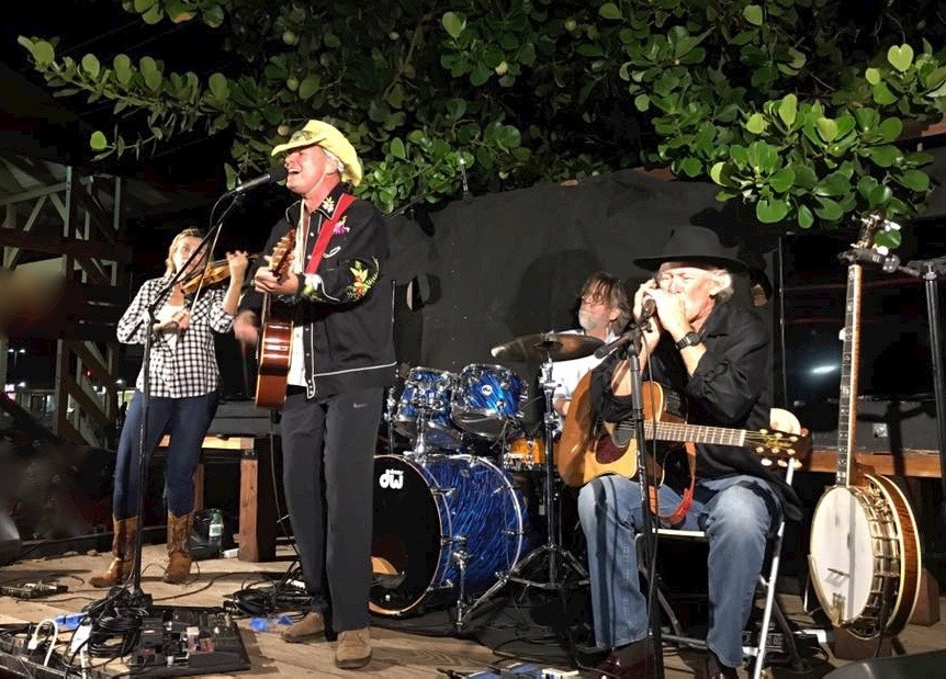 MAKAWAO | FRIDAY – Haiku Hillbillys will perform at the Makawao Third Friday Town Party; The Maui News file photo.