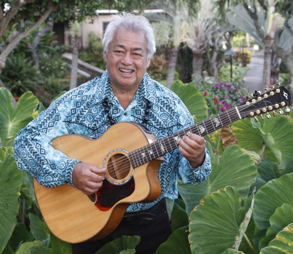George Kahumoku Jr. presents a special Wednesday performance with an all-star cast of slack key artists. • Photo courtesy the artist