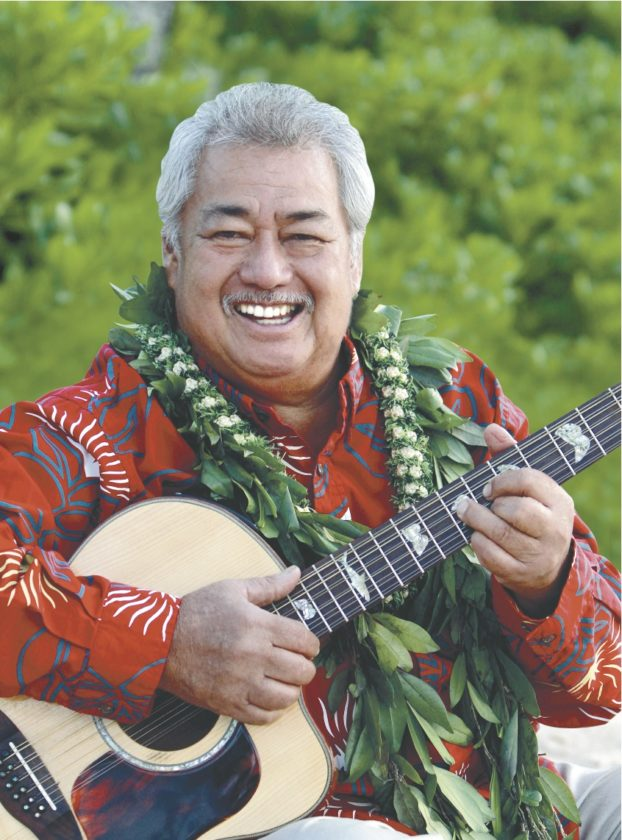 NAPILI | WEDNESDAY –  George Kahumoku Jr's Slack Key Show with all star performance; The Maui News file photo.