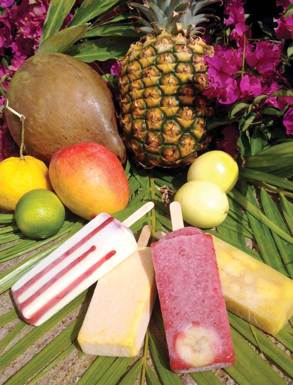 Shaka Pops Maui with varied tropical flavors will be among the many vendors on Wednesdays. Maui News file photo