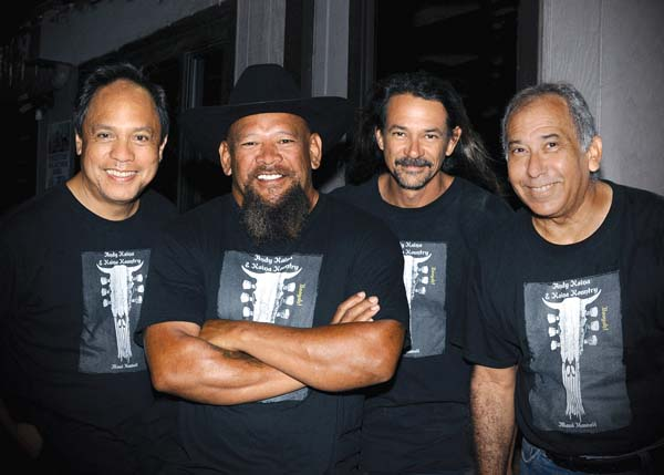 See the Kaina Kountry band at Kihei fourth Friday Town Party; photo provided by artists