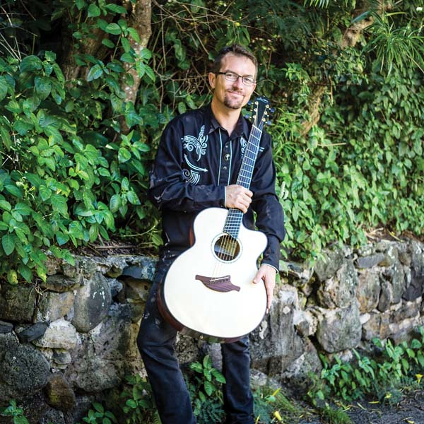 Slack key guitarist Stephen Inglis is one of the stellar artists to perform at the 26th Annual Ki Ho'alu Guitar Festival, sponsored by The Maui News, from 1 to 7 p.m. Sunday at the Maui Arts & Cultural Center's A&B Amphitheater in Kahului. Admission is free. Gates will open at 12:30 p.m. Festival-goers are encouraged to bring low-back beach chairs, mats or blankets. For more information, call 242-7469 or visit www.mauiarts.org. Photo courtesy the artist