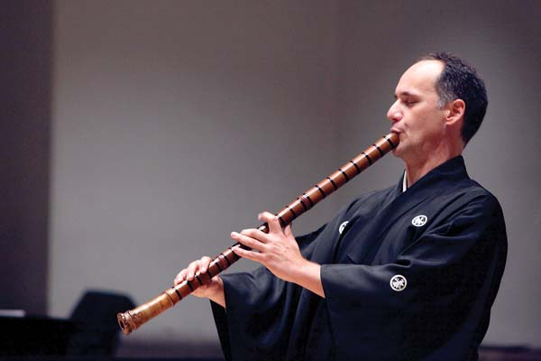 Guest performer Marco Lienhard; photo courtesy the artist