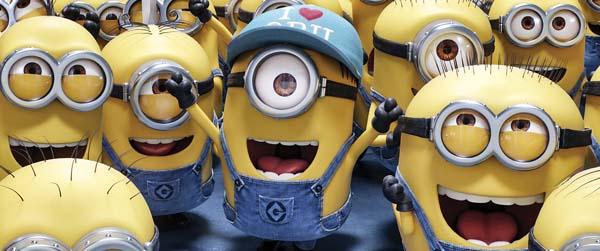 "Catch the Minions in ""Despicable Me 3"" tonight. Illumination and Universal Pictures via AP photo"