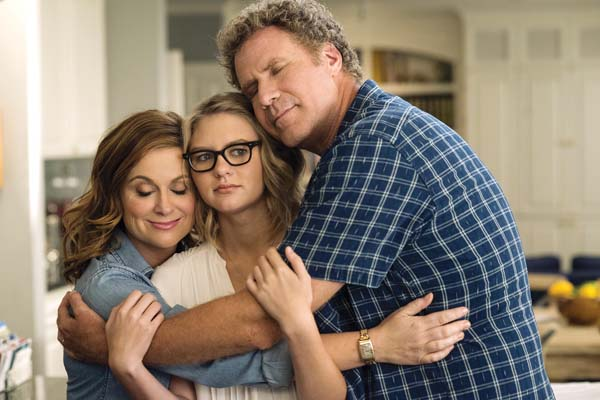 """Amy Poehler, from left, Ryan Simpkins and Will Ferrell star in """"The House."""" Warner Bros. Entertainment via AP photo"""
