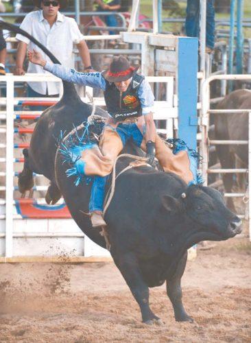 Makawao Rodeo bull riding • Thursday through Sunday; The Maui News file photo