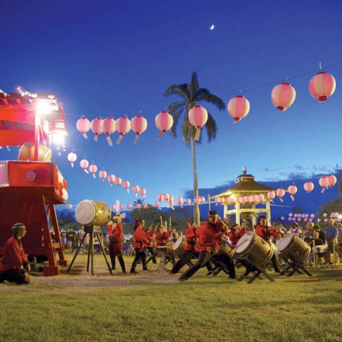 20th Anniversary Maui Taiko Festival; Leon Matsui photo