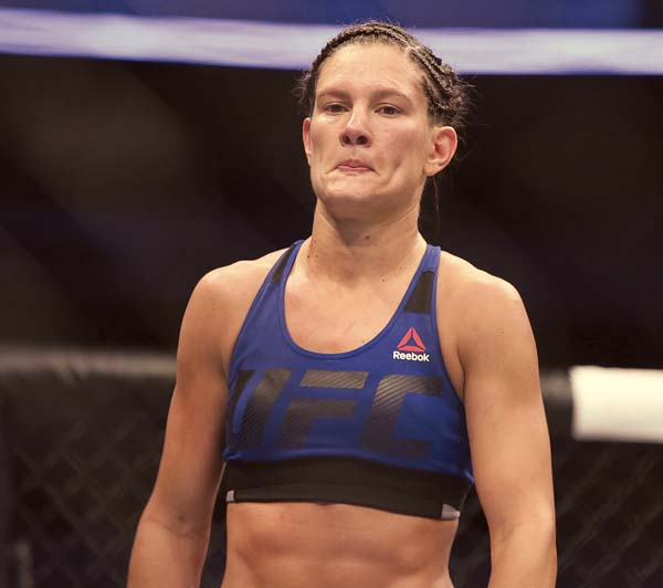 "Cortney Casey ""received negative and damaging backlash … resulting from a false-positive,"" the Ultimate Fighting Championship said Thursday. AP file photo"