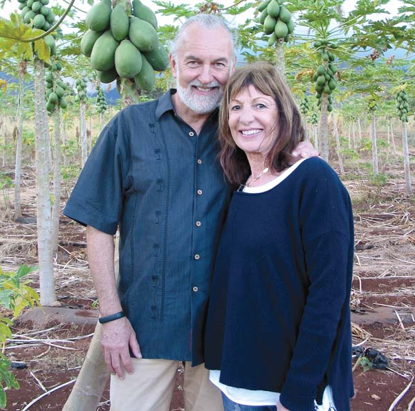 Noted French chef Hubert Keller and his wife, Chantal, will return to the Grand Wailea from Las Vegas, where they run the famous Burger Bar and Fleur restaurants. The Maui News / CARLA TRACY photo