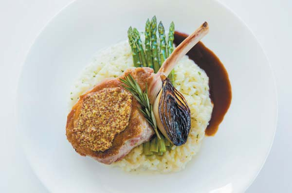 Marcho Farms center cut, all-natural veal chop in balsamic port-wine demi glace is a meaty wonder. Lahaina Grill photo