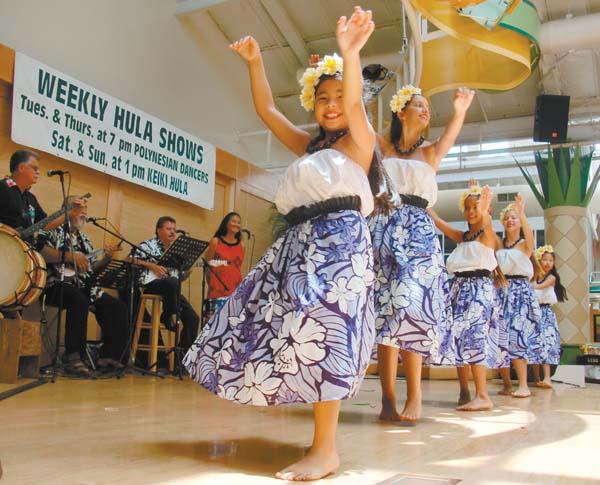 Watch the 19th annual Keiki Hula Festival Saturday and Sunday at Lahaina Cannery Mall; The Maui News file photo.