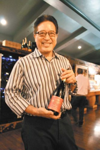 Chris Kaiwi just launched a new wine and new summer menu items at Taverna in Kapalua. Photo courtesy UH-MC