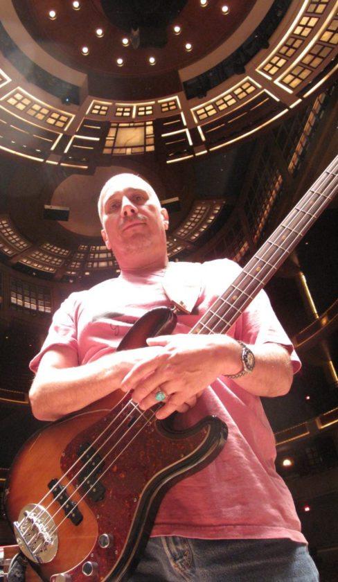 "James ""Hutch"" Hutchinson rejoins Bonnie Raitt's ""Dig in Deep"" tour after a quick stop back home on Maui; Photo courtesy the artist"