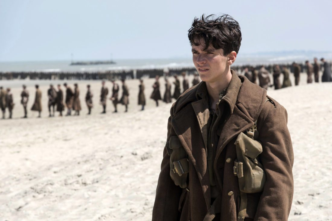 "Fionn Whitehead stars in ""Dunkirk""  •  Warner Bros. Entertainment / Ratpac-Dune Entertainment via AP photo"
