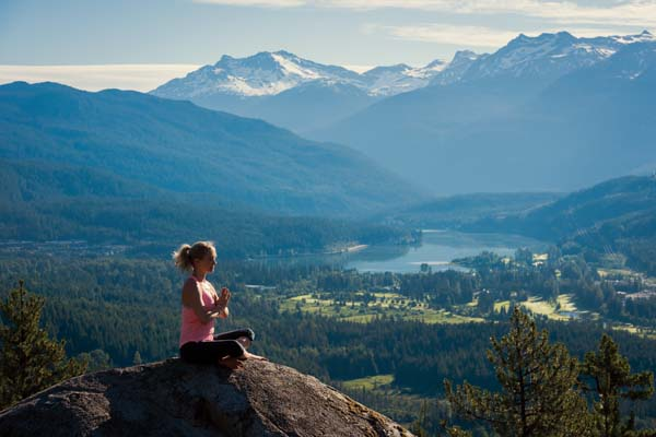 Wanderlust, one of the largest yoga lifestyle events in the world, returns to Whistler from Aug. 3 to 6. -- Tourism Whistler photo